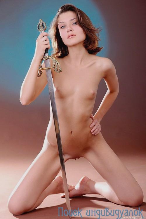 Талюша: мастурбация члена грудью
